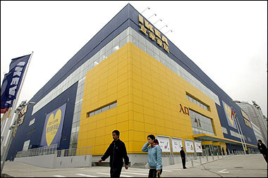 IKEA launches new Beijing store