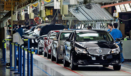 Gm sold more cars in china than in us last year for General motors annual report 2010