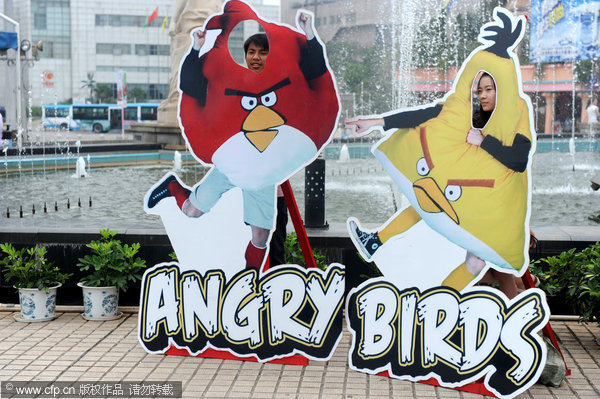 Angry Birds land on Window of the World Park | Center | chinadaily.com ...