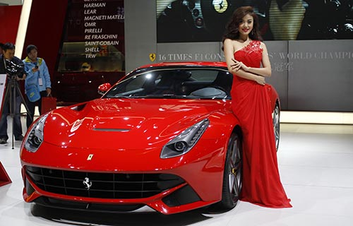Exceptional Luxury Cars Dazzle At Auto Guangzhou 2013