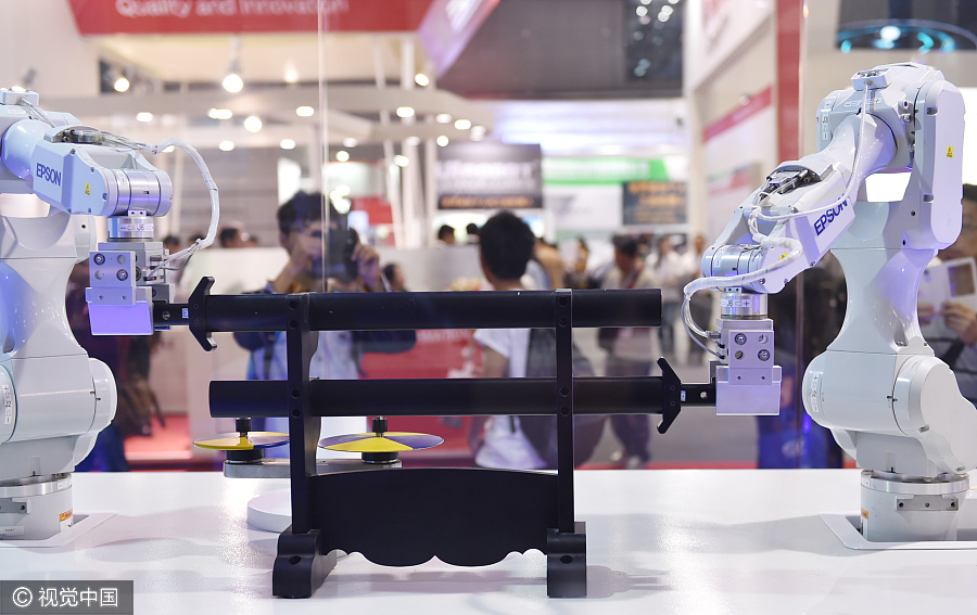 Top 10 robotics companies in the world[1]- Chinadaily com cn