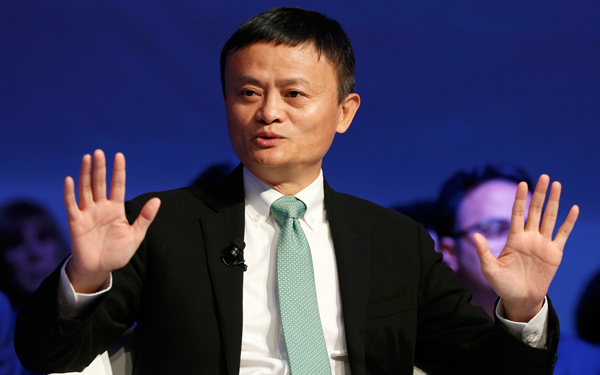 Jack Ma Bangs The Drum For Small Business At Davos Business