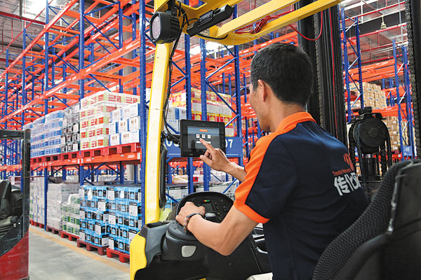 Logistics sees big efficiency boom - Business - Chinadaily