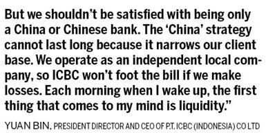 ICBC, 1st one eating crab in Indonesia |Markets |chinadaily