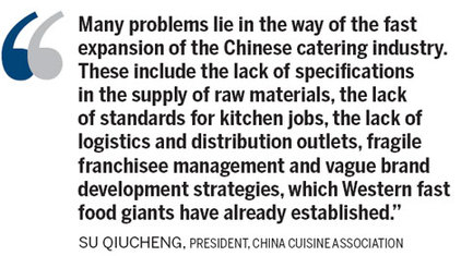 Chinese restaurant chains face challenges - Business