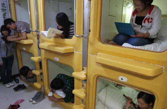 Mini hotel opens in Xian airport[1]- Chinadaily.com.cn