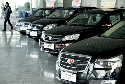 Geely profits soar