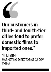 Small cities play growing role in film market