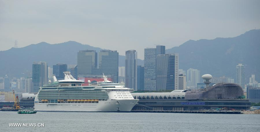 HK39s New Cruise Terminal Receives Luxury Liner1