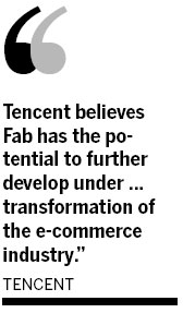 Tencent invests in Fab, takes on Alibaba