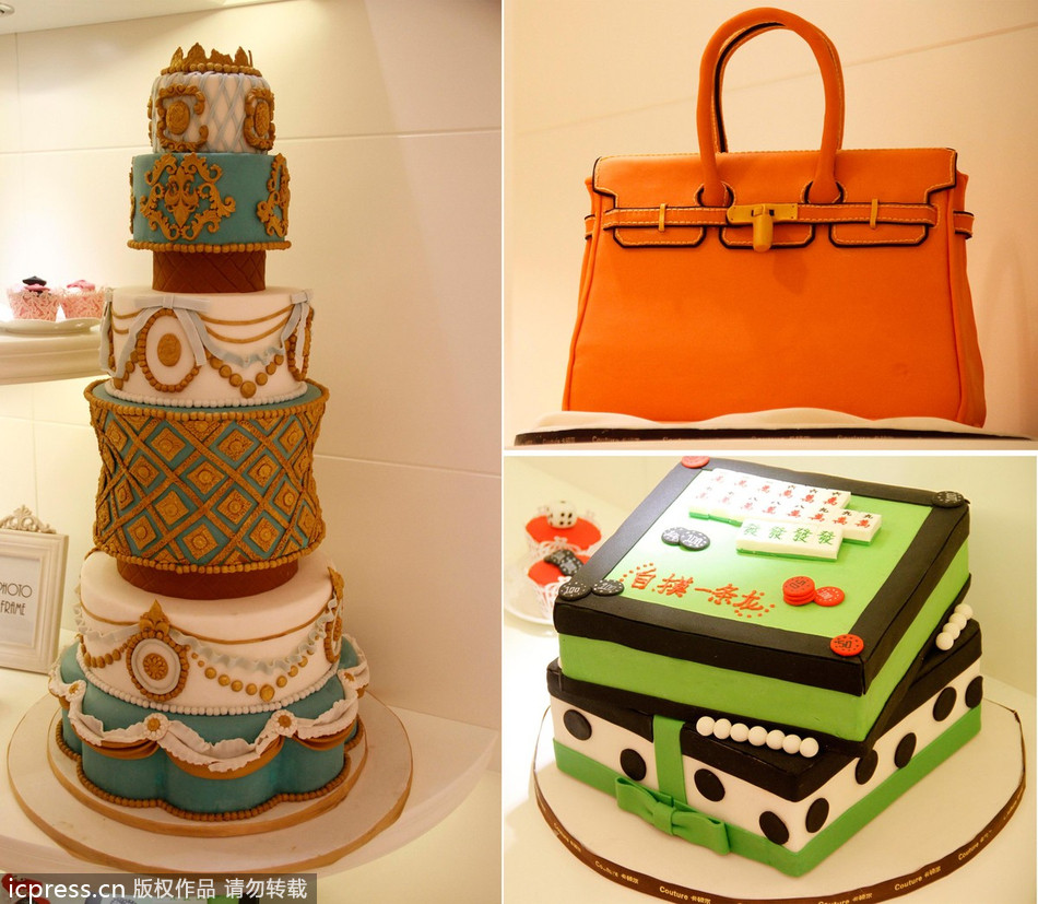 Cake With Fondant Storage : Fondant cakes shine in Nanjing[5]chinadaily.com.cn