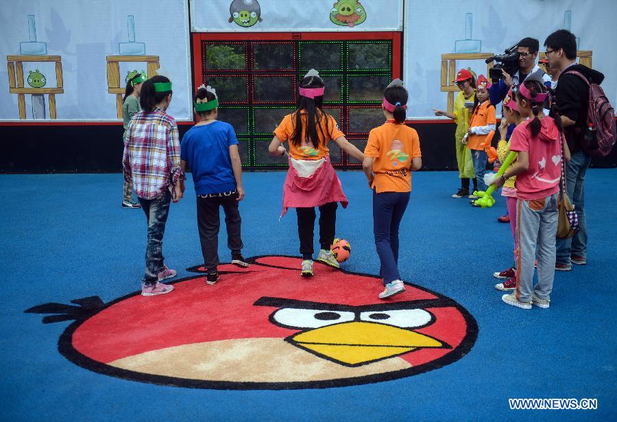Angry Birds theme park opens in E China