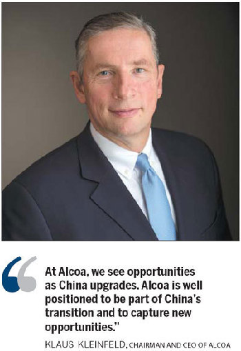 Navigating challenging markets:Alcoa CEO[1]- Chinadaily com cn