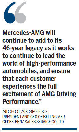 Hearts race at AMG Driving Awards