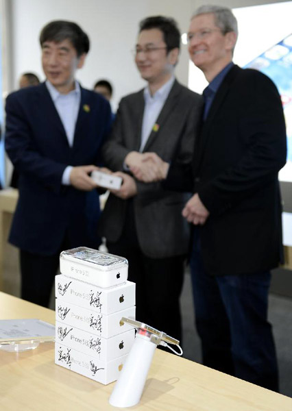 First official iPhone 5S sold in China