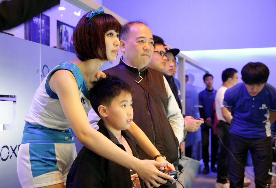Taipei Game Show attracts geeky gamers