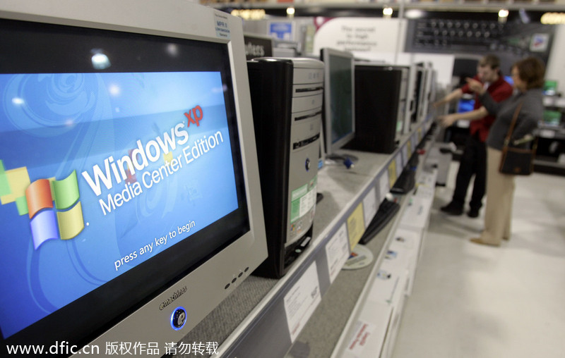 Microsoft to end support for Windows XP[2]- Chinadaily com cn