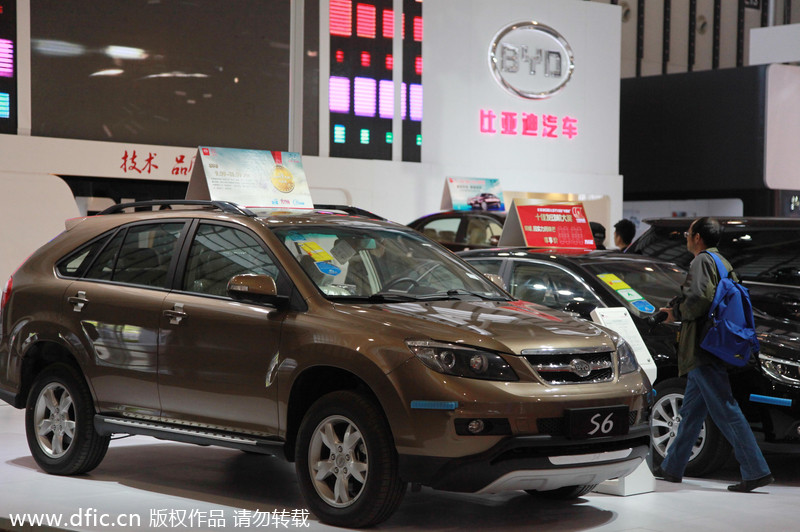 Top 10 best-selling SUVs in Chinese mainland