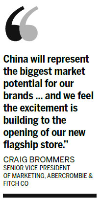 Abercrombie & Fitch plans over 100 new stores in China