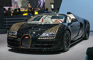 Luxury cars make Asia premiere at Auto China