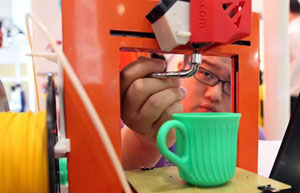 3-D printing adds new dimension to startups