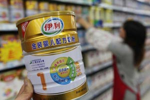 China tightens controls on imports of baby formula