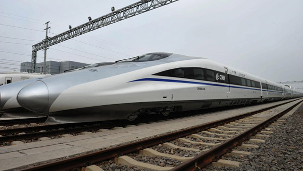 China mulls high-speed train to US: report