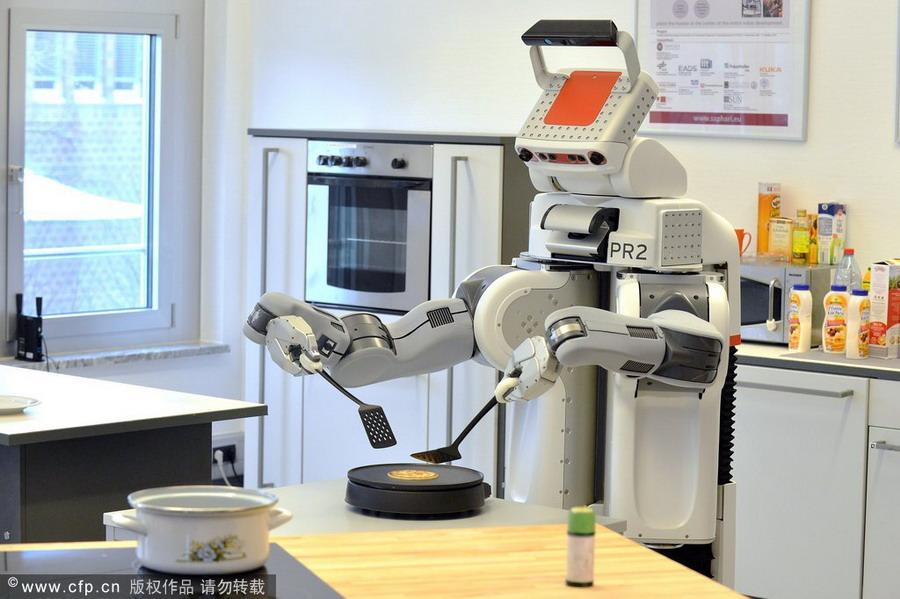 Top 10 amazing robots in the world 1 - Robot qui fait la cuisine ...