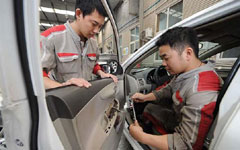 Auto after-sales services booming; companies chase market share