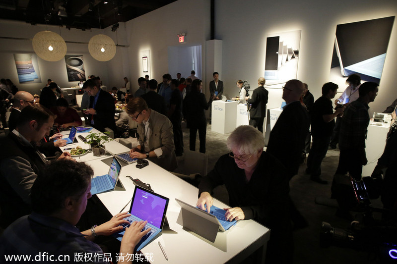Microsoft launches Surface Pro 3 in New York