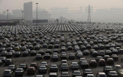 China to take 5 million old cars off road in 2014