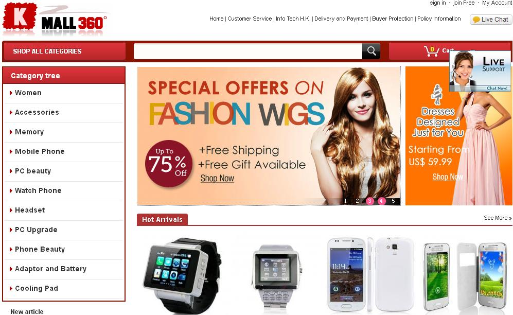 Top 10 most popular online shopping sites in china 1 for Online sites in usa