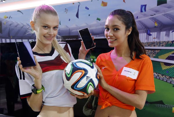Mobile firms feed off CCTV's FIFA coverage