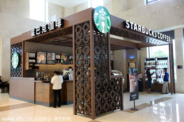 starbucks expansion into china