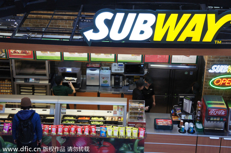 Top 10 Fast Food Chains In China 1 Chinadaily Com Cn