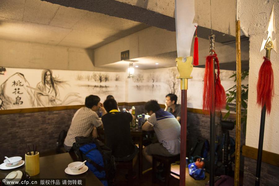 Wuxia café kicks off in Jiangxi