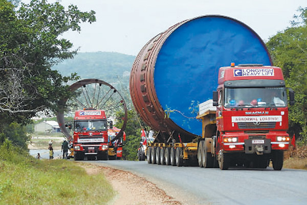 Chinese logistics company weaves fine web in Africa[1