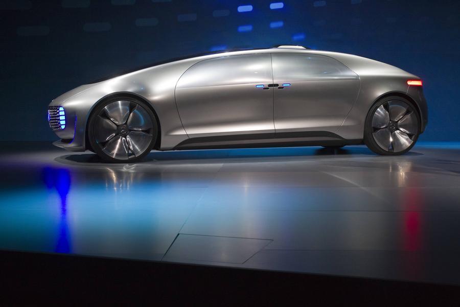 Mercedes-Benz F015 concept car unveiled at 2015 CES[1 ...