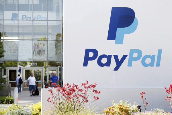 Chinese online sellers' Paypal accounts frozen
