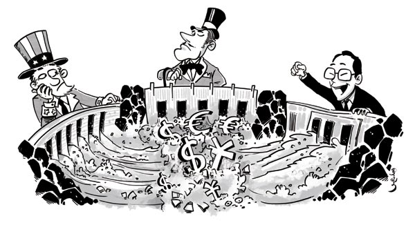 Central banks lemmings of quantitative easing