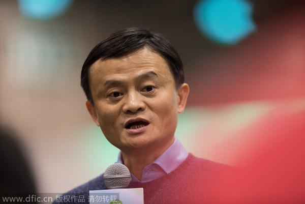 Alibaba head meets with regulators