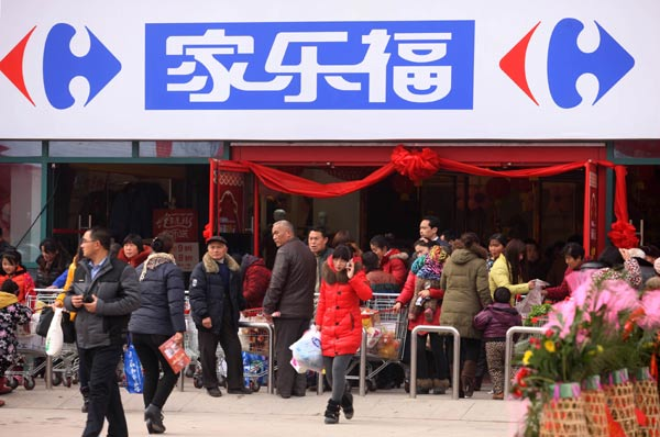 Carrefour China opened 3 new stores