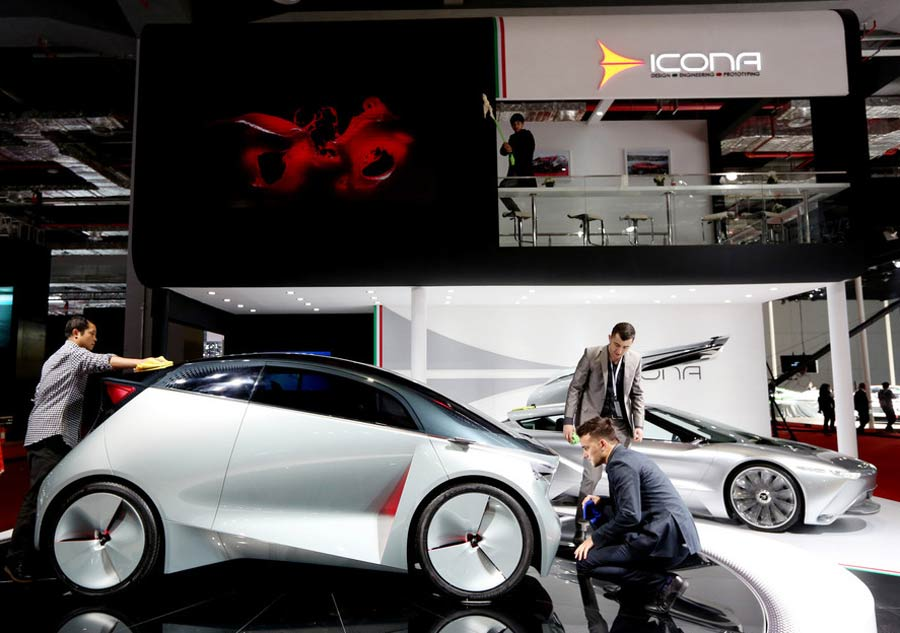 Concept Cars Shine At Auto China 2016 1 Chinadaily Com Cn: Shanghai Auto Show Kicks Off[7]- Chinadaily.com.cn