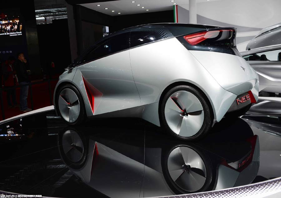 Concept Cars In Spotlight At Shanghai Auto Show Chinadailycomcn - Concept car show
