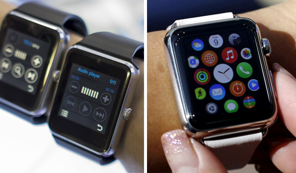 Apple Watch faces timely competition