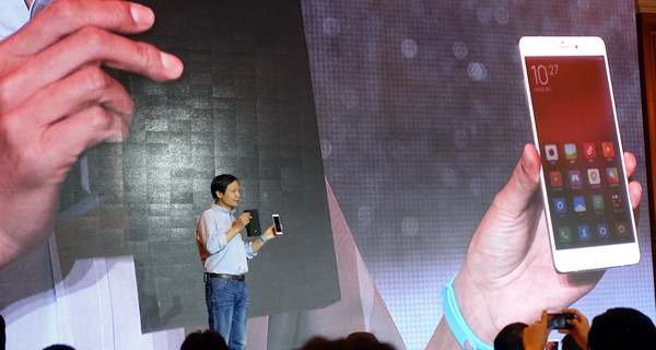 Xiaomi launches high-end smartphone to take on big rivals