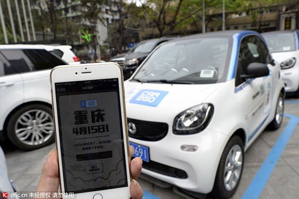 Daimler Launches Car Sharing Service In China Business