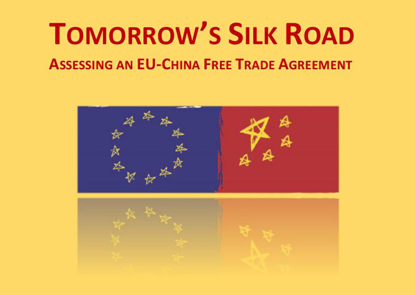Think Tank Study Supports China Eu Free Trade Talks Business