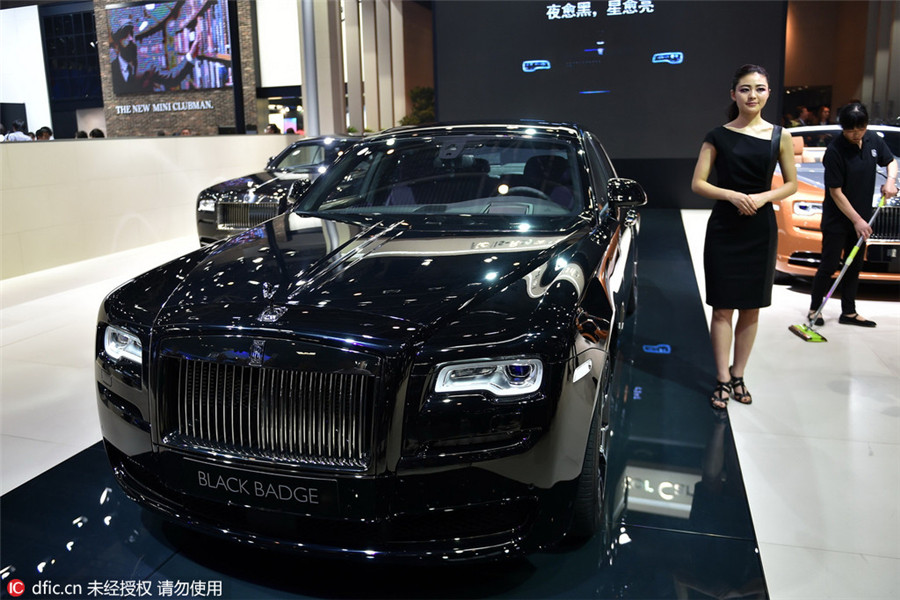 Top 10 Luxury Cars At Beijing Auto Show[4]- Chinadaily.com.cn