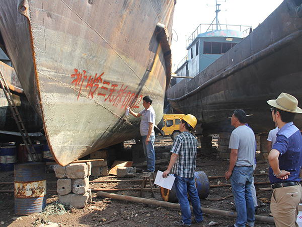 China's ship-breaking industry swimming through troubled waters